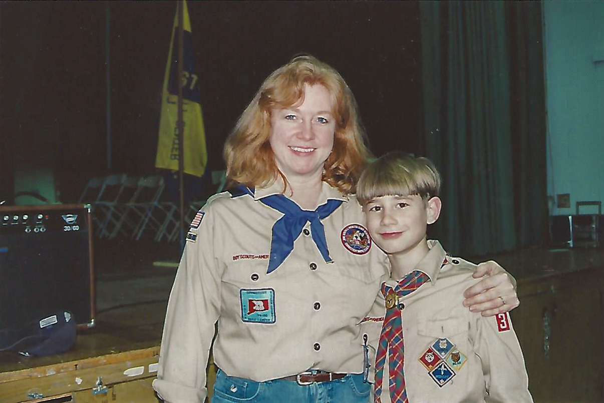 Troop 76 Boy Scouts - Mystic 2002